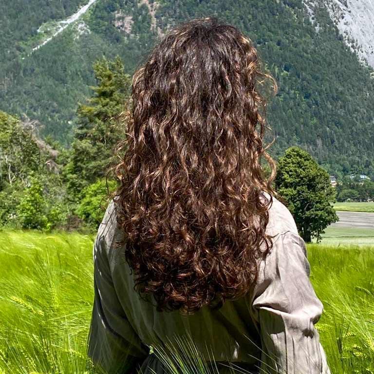 Frisur nach Hairbalancing